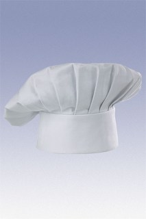 White Chef Hat-CW