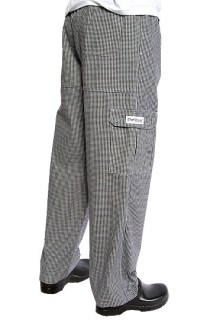 Small Check J54 Cargo Pant-Chef Works