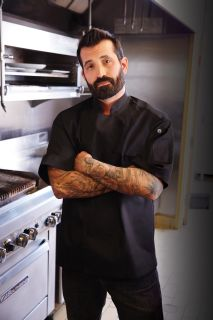 Palermo Short Sleeve Executive Chef Coat-