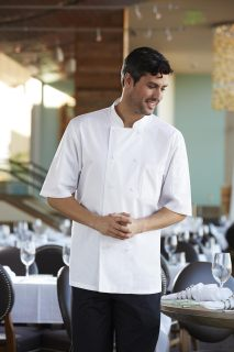 Montreal Cool Vent Basic Chef Coat-CW