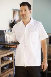White Utility Shirt-