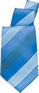 Tone Stripe Tie-