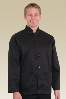 Black Waiter Coat-