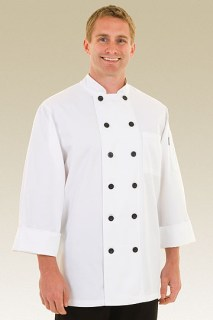 Sorrento Basic Chef Coat-CW
