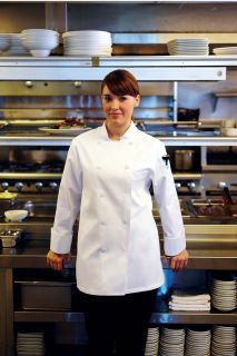 St. Tropez Women's Executive Chef Coat-CW