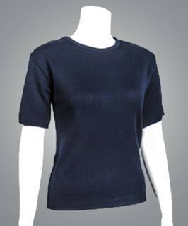 "Cobmex Ladies ""Cashmere""-Like Short Sleeve T (Twin Set)-"
