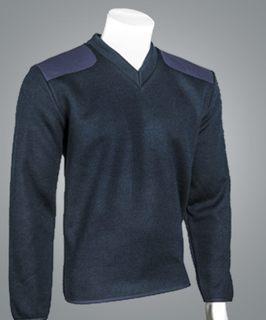 "Cobmex V-Neck Fleece Lined ""Commando"". Optional Badge Plate, Name Plate and Epaulets Included-Cobmex"