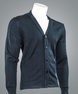 4005 V-neck Button Cardigan-Cobmex