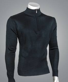 ¼ Zip Mock Neck Pullover