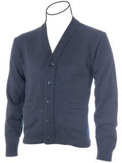 Cobmex YOUTH V-Neck Long Sleeve Button Front Cardigan with Pockets. Hemmed Waistband-Cobmex