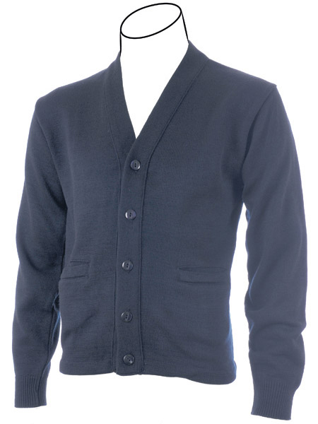 Cobmex YOUTH V-Neck Long Sleeve Button Front Cardigan with Pockets. Hemmed  Waistband d21954add