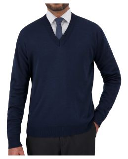 "Cobmex ""Cashmere""-Like, V Neck Long Sleeve Pullover-Cobmex"