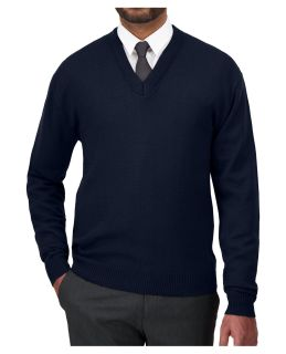 Cobmex V-Neck Long Sleeve Pullover-