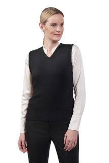 "Cobmex Ladies ""Cashmere""-Like V-Neck Vest-Cobmex"