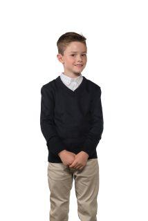 Cobmex YOUTH V-Neck Long Sleeve Pullover-Cobmex