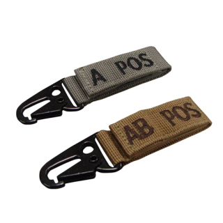 Blood Type Key Chain (4 Pcs/Pack)