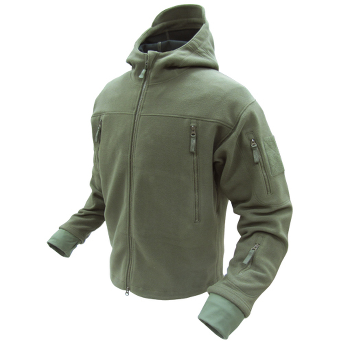 Sierra Hooded Fleece Jacket