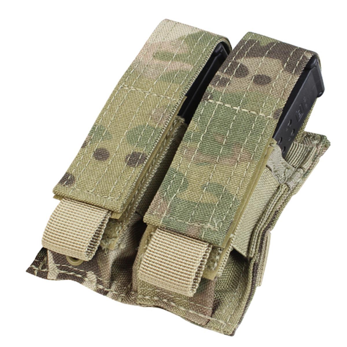 Double Pistol Mag Pouch, Multicam-