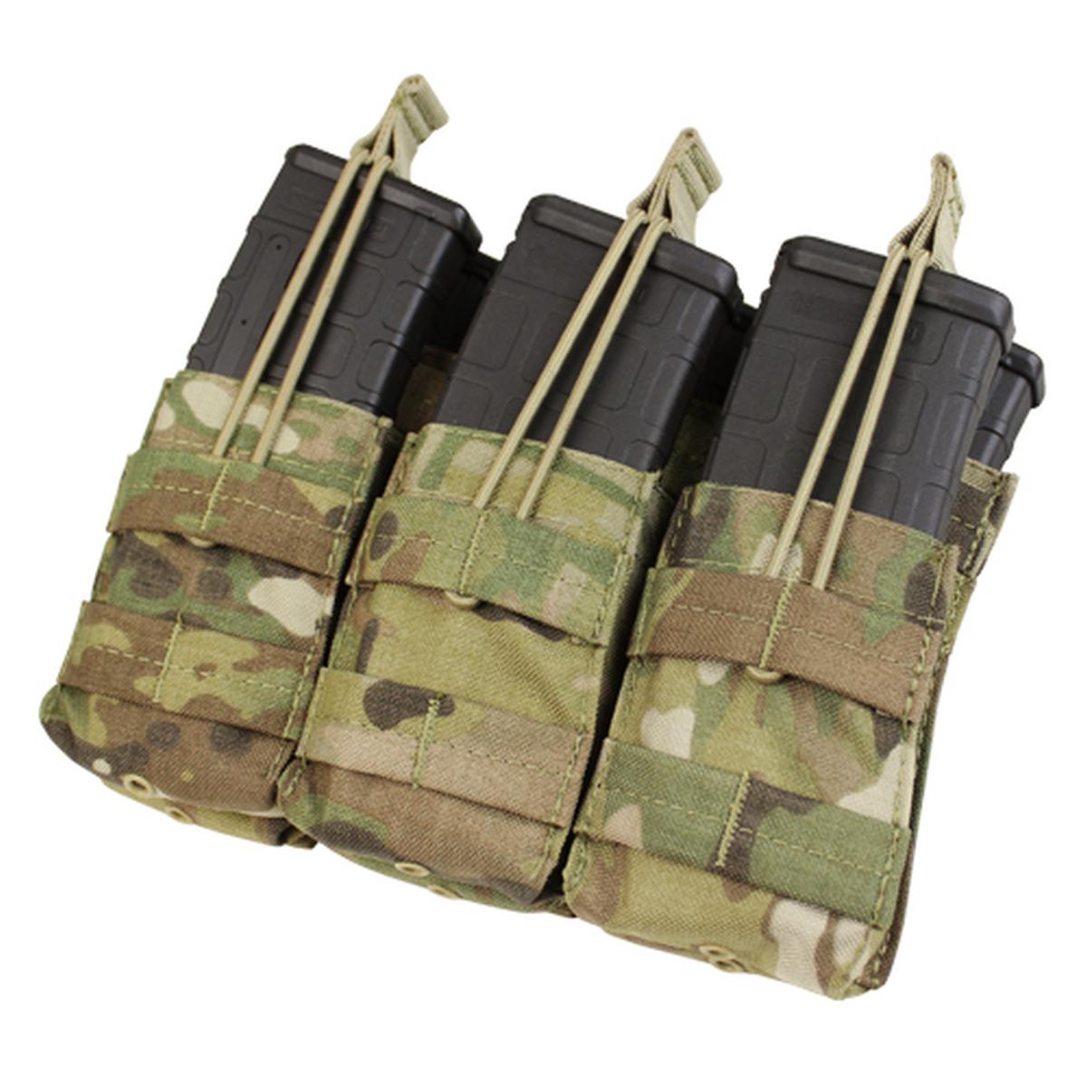 CONDOR MA44-008 Triple Stacker M4//M16 Mag Pouch MultiCam