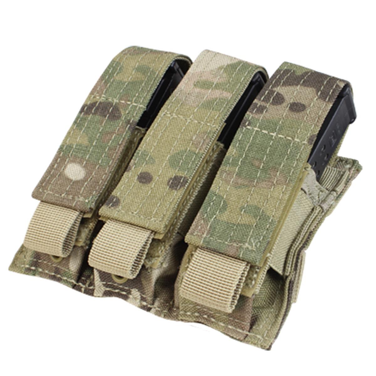 Triple Pistol Mag Pouch, Multicam