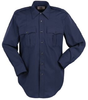 1525 Men's Long Sleeve Conqueror Ecoseries 65% Polyester With Repreve®/35% Cotton Shirt-Leventhal