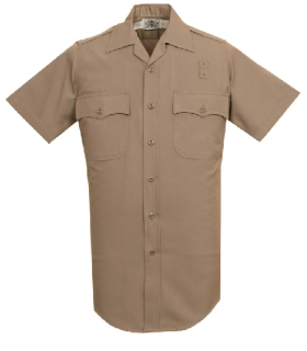 260 Men's Short Sleeve Conqueror California/West Coast Style Shirt-Leventhal