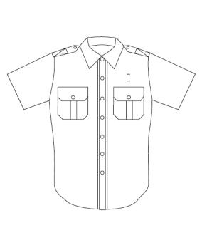 345 Men's Short Sleeve Conqueror West Coast Transit Shirt-Conqueror by Leventhal Ltd.