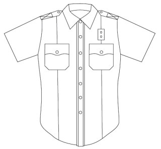 5286Z Men's Short Sleeve Conqueror California/West Coast Style Shirt-Leventhal