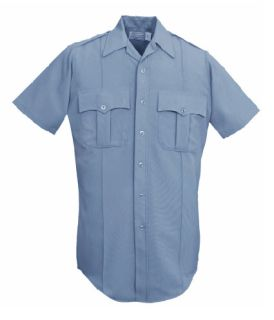 6185 Men's Short Sleeve Conqueror Ecoseries 65% Polyester With Repreve®/35% Cotton Shirt-Leventhal