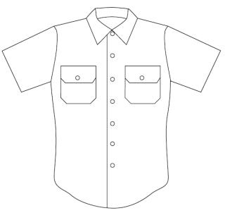 8362 Men's Short Sleeve Conqueror California/West Coast Style Shirt-Leventhal