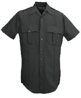 L202Z Women's Short Sleeve Conqueror Visa® 100% Polyester Zipper Front Shirt-Leventhal