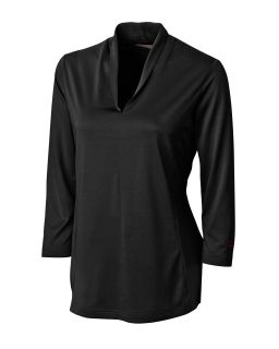 Womens LCK02510 CB DryTec 3/4 Sleeve Kavanagh V-neck