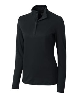 Women's LS Belfair Pima Half zip