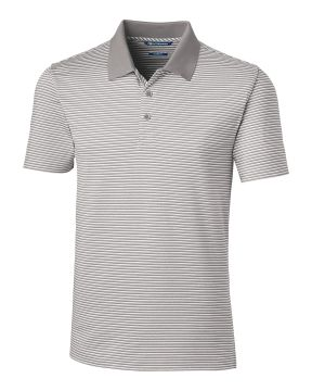 Forge Polo Tonal Stripe Tailored Fit-