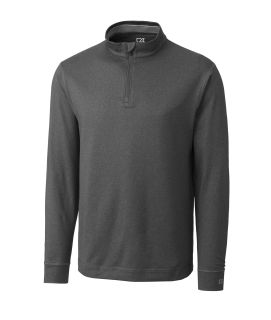Men's CB DryTec long sleeve Topspin Half Zip