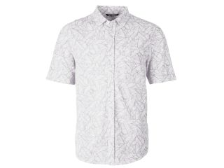 Reach Oxford Print Button Front S/S-
