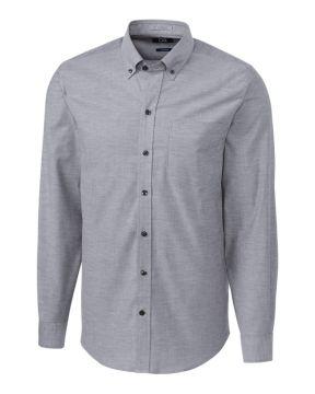 L/S Tailored Fit Stretch Oxford-