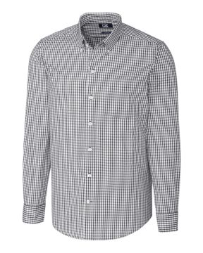 L/S Tailored Fit Stretch Gingham-