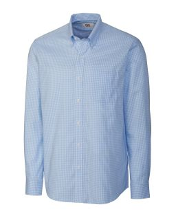 L/S Epic Easy Care Tattersall-Cutter & Buck