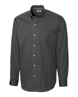 Mens long sleeve New Epic Easy Care Pin Stripe