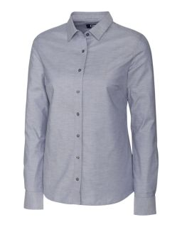 L/S Stretch Oxford-