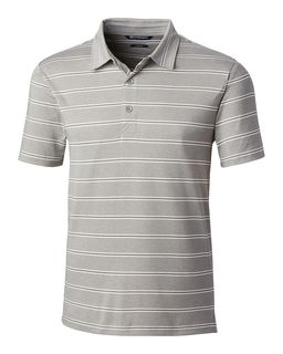 Forge Polo Heather Stripe Tailored Fit-