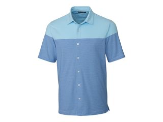 Pioneer Engineered Stripe Button Front-