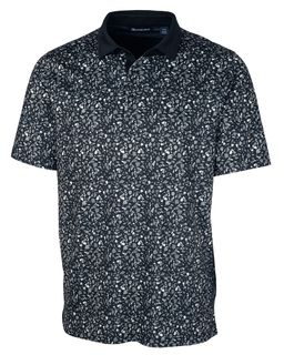 Forge Polo Particle Print-