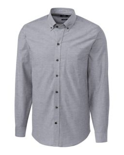 L/S Tailored Fit Stretch Oxford-