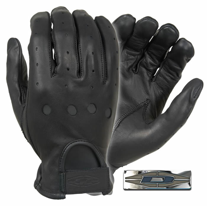 Premium Leather Driving Gloves : Full Finger-