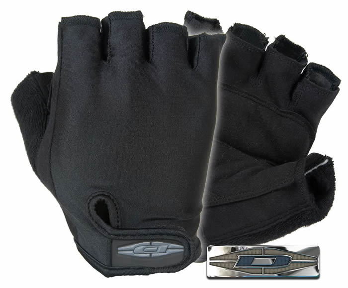 Bike Patrol Gloves : 1/2 Finger