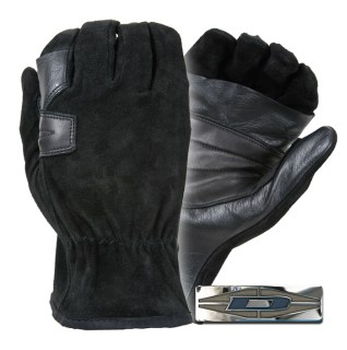 Rappelling Gloves - Sued w/ Reinforced Palms