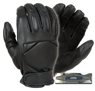 Responder™ Gloves - Full Finger Leather w/Reinforced Palms-Damascus
