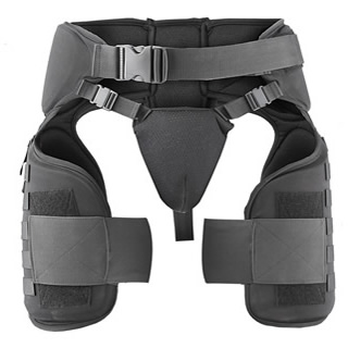 IMPERIAL™  Thigh / Groin Guards with Molle System-Damascus
